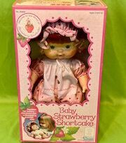 Baby strawberry shortcake doll blow scented kiss