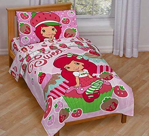 Strawberry shortcake bedding jay franco set